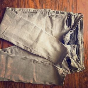 Old navy, grey, ankle pants. Size 10 long